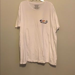 Columbia fishing tee